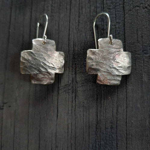 Cross Earrings - small