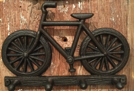 IRON BICYCLE HOOK