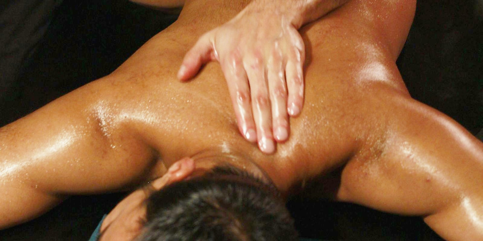 Sensual in nature. Basic strokes of Lomi Lomi (KaHuna) massage.