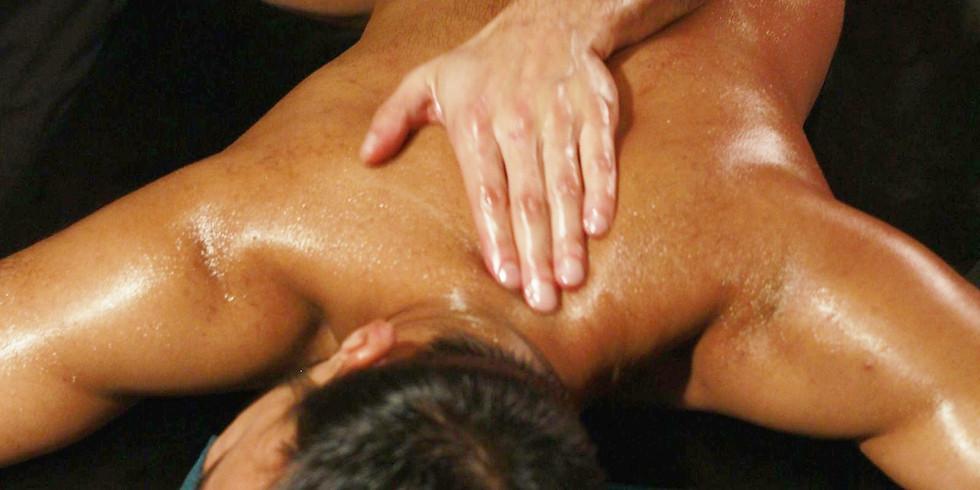 Sensual in nature. Basic strokes of Lomi Lomi (KaHuna) massage
