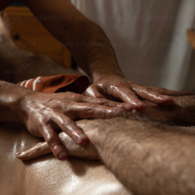 Massage exchange for Man with optional Release Ritual