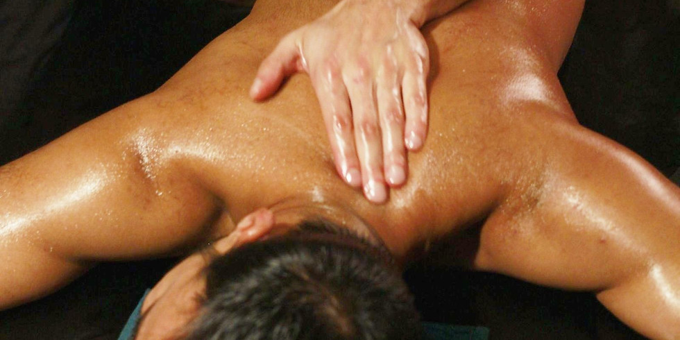 Sensual in nature. Basic strokes of Lomi Lomi (KaHuna) massage