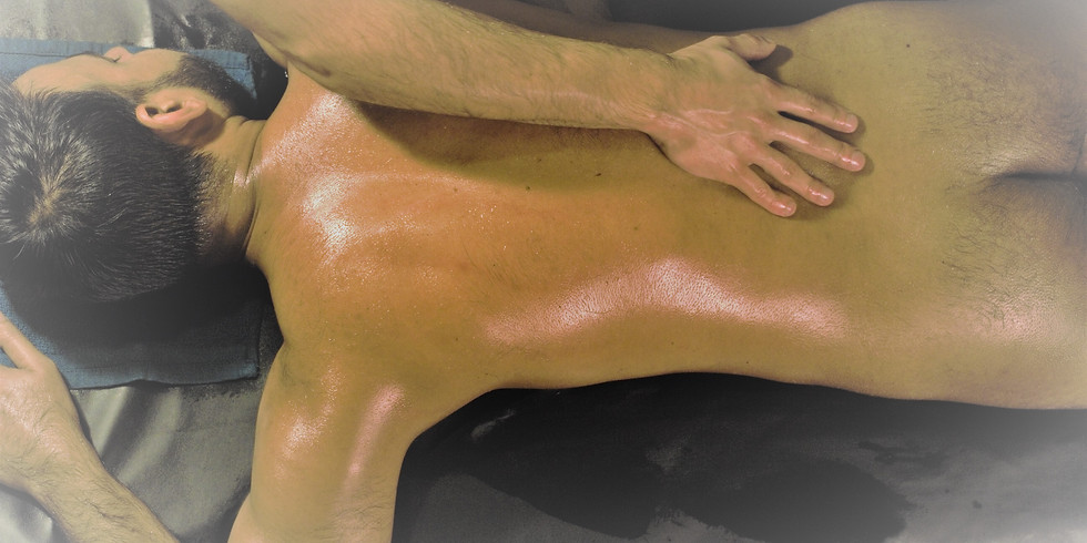Sensual in nature. Basic strokes of Lomi Lomi massage (KaHuna).  (1)