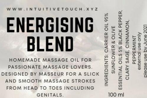 Energising (self) massage oil