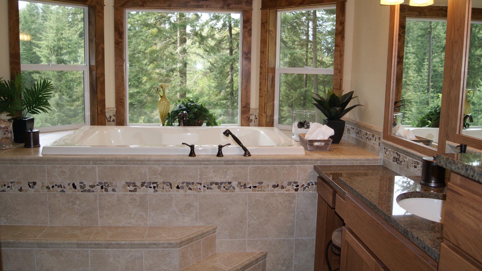 New Construction Master Bath