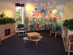Remodeled Pediatric Clinic Waiting Room