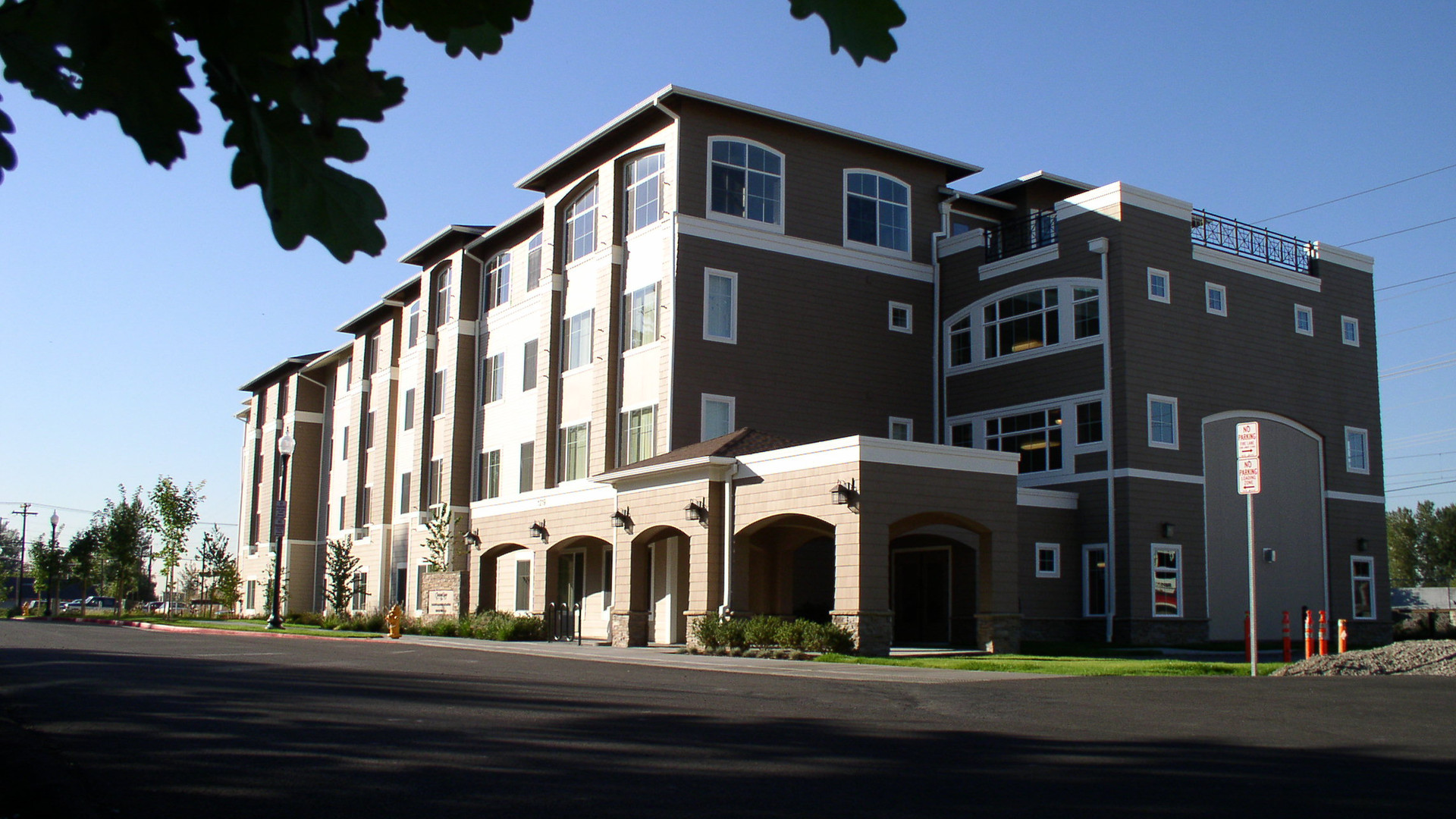 New Construction Assisted Living Facility