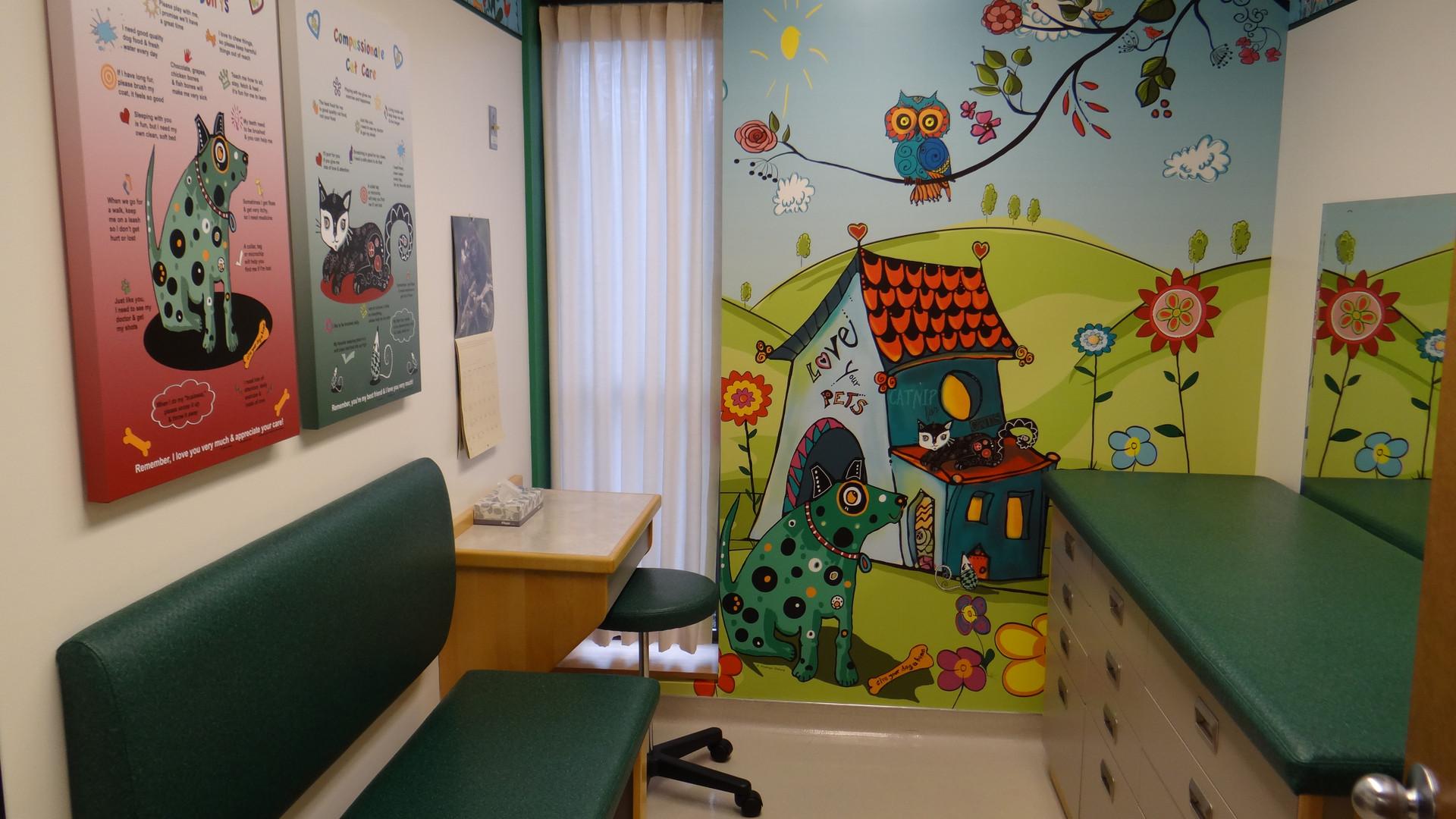 Remodeled Pediatric Clinic