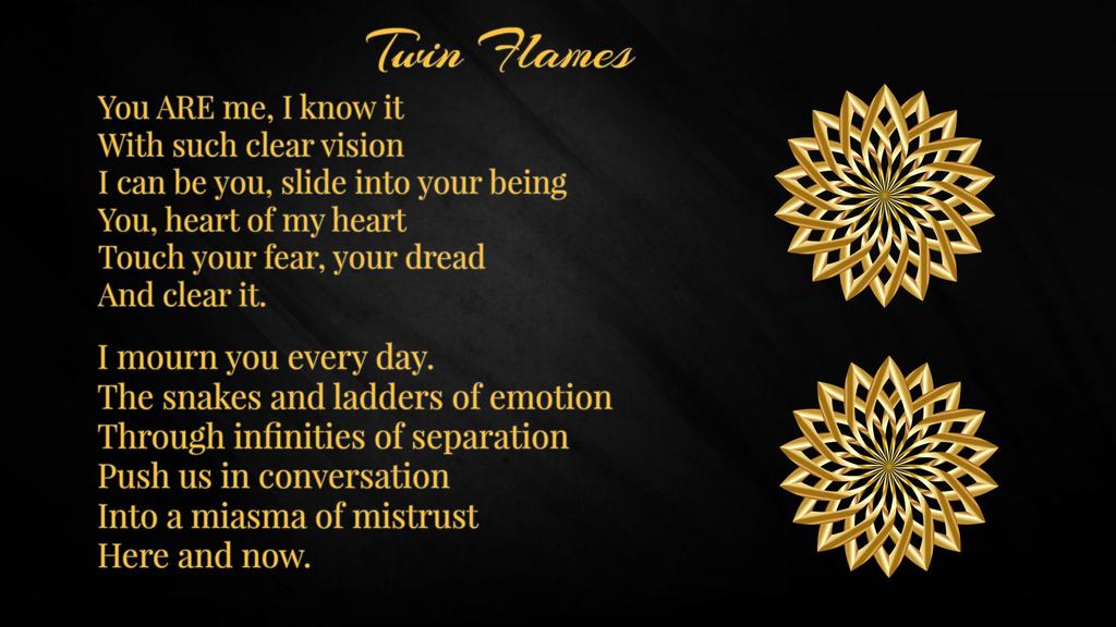 Twin Flame Gold Cord