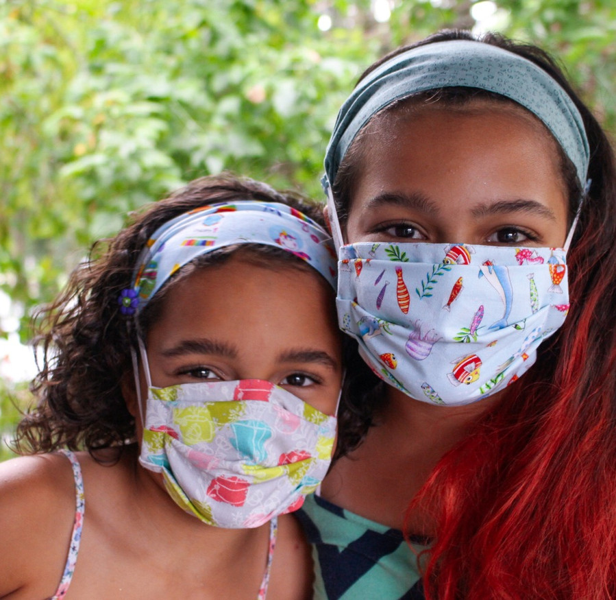 Youth Masks & Headbands