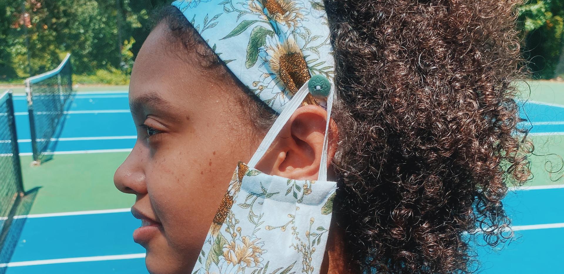 Sunflower Mask & Headband