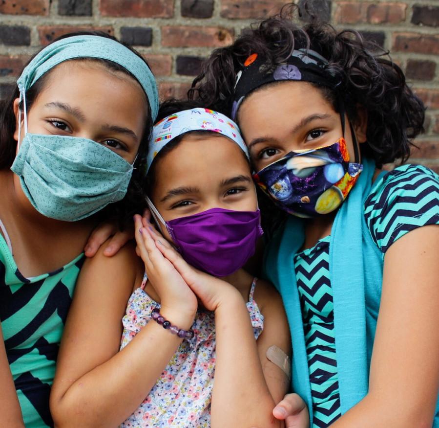 Youth Mask & Headbands