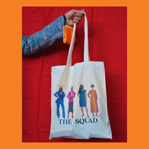 """The Squad"" Tote Bag"