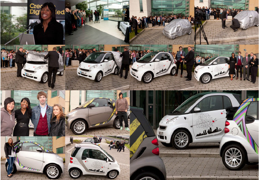 Collaboration: Mercedes Benz and SMART Manchester