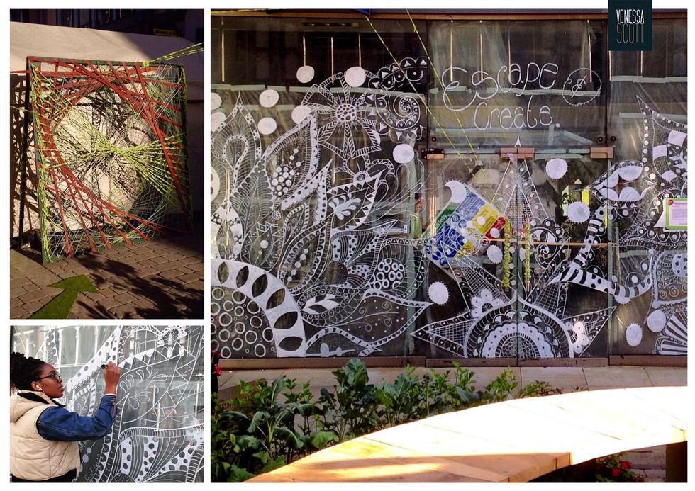 Public Art: Eco Mural + Installation