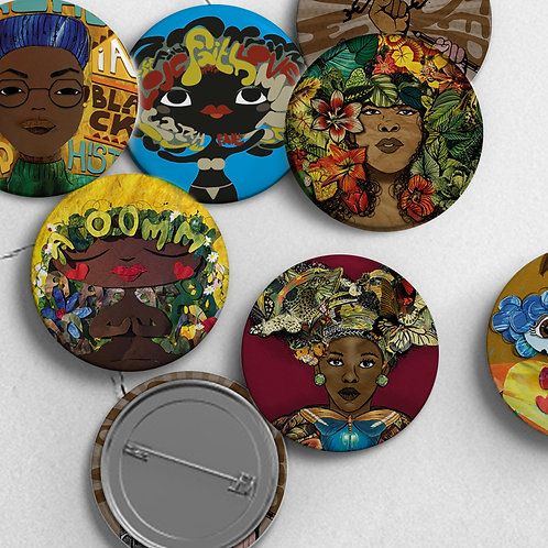 Handmade Pin Badges