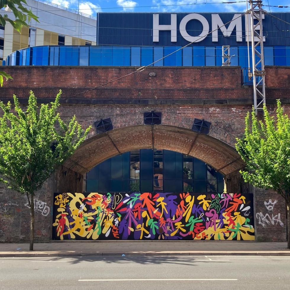 HOME Mcr    Mural