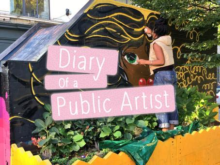 Diary of a Public Artist: Tib Street Mural
