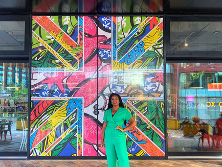 Black History Month Mural for HOME Manchester