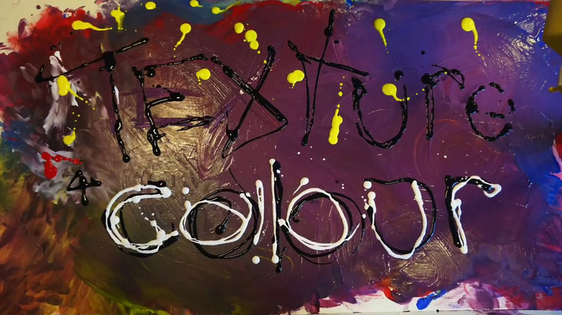"""""""Texture and Colour"""" Art vs Early Years Oracy"""