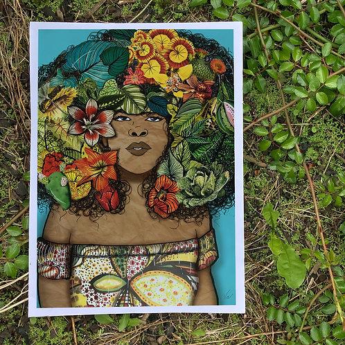 Vegan Beauty || A3 Print