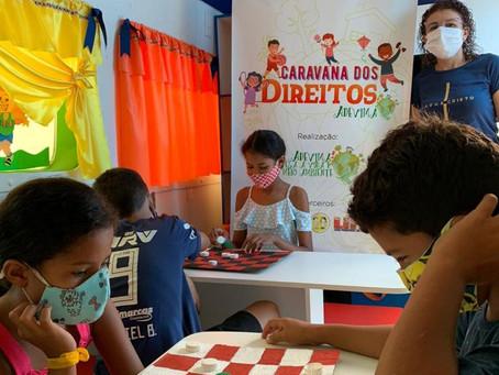Adevima realiza ações de enfrentamento ao trabalho infantil em Maraba, em parceria com o Creas.