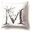 Thumbnail: Floral Letter Pillow