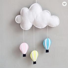 Cloud & Hot Air Balloons