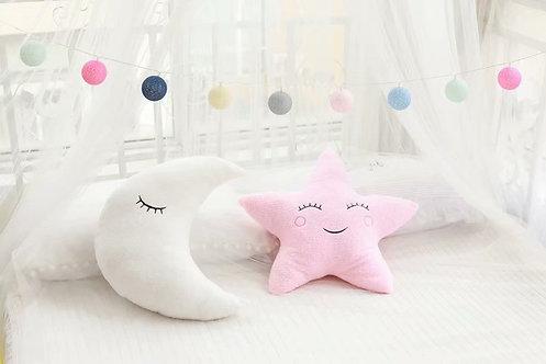 Moon/Star/Cloud Pillow