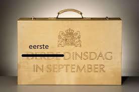 Eerste dinsdag van september!
