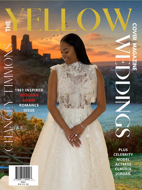 1961 Inspired Wedding Gown Romance Print Issue