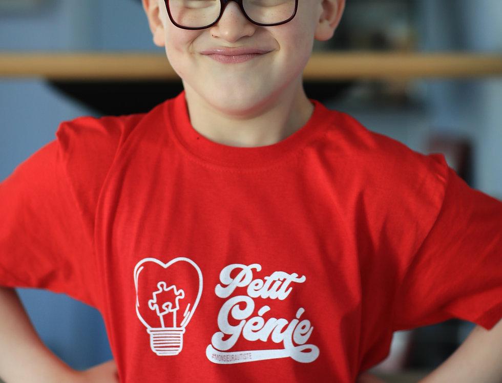 T-shirt Enfant Original Petit Génie