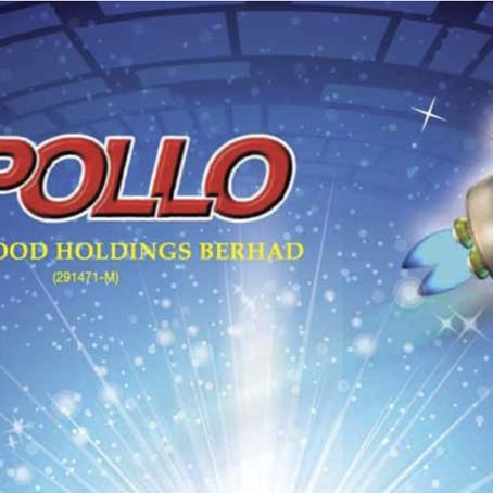 APOLLO (6432) 最新季度营业额上涨