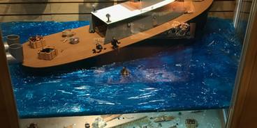Shipwreck Exavation Diaroma