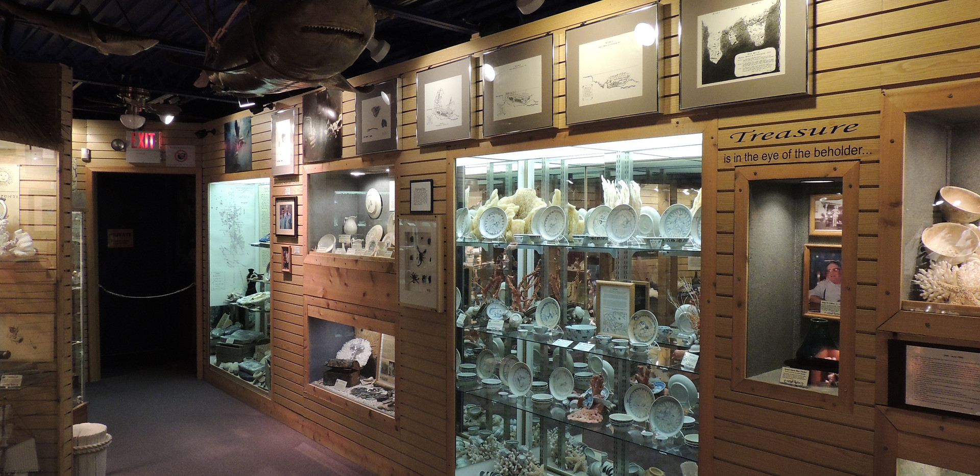 Thousands of Artifacts on display