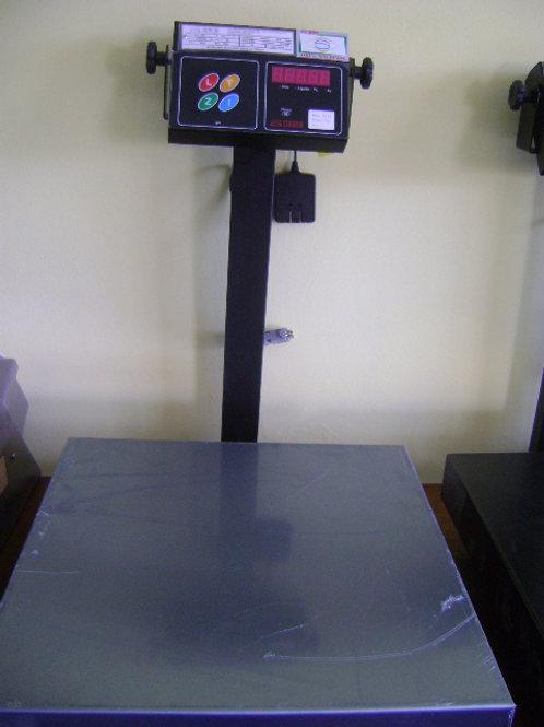 Balança Industrial PLataforma 100-200kg com Coluna