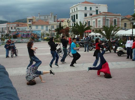 Χορός στην Πλατεία Σαπφούς