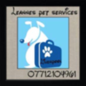 pet services.