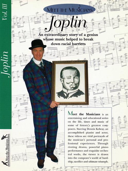 Volume 3,  Meet the Musicians  Scott Joplin
