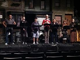 Singers performing at NAMT