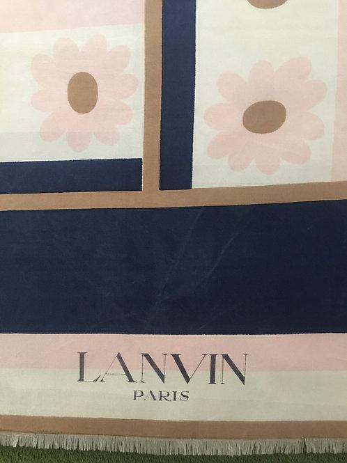 Joli foulard LANVIN 1950/60