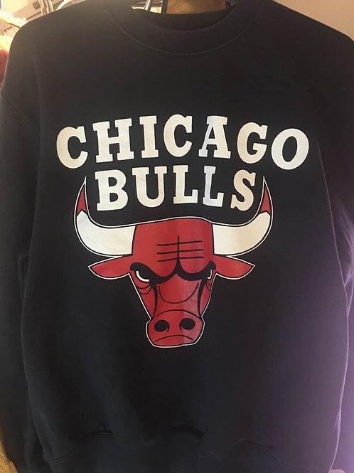 Joli sweat Chicago Bulls 1990