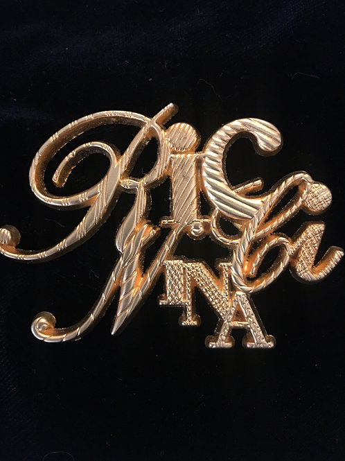 Très belle broche NINA RICCI 1980