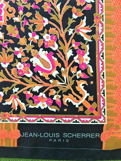 Joli foulard SCHERRER 1980