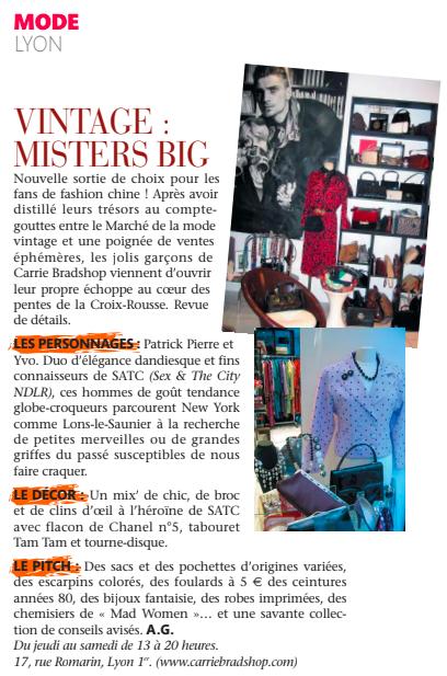 Madame Figaro Octobre 2010