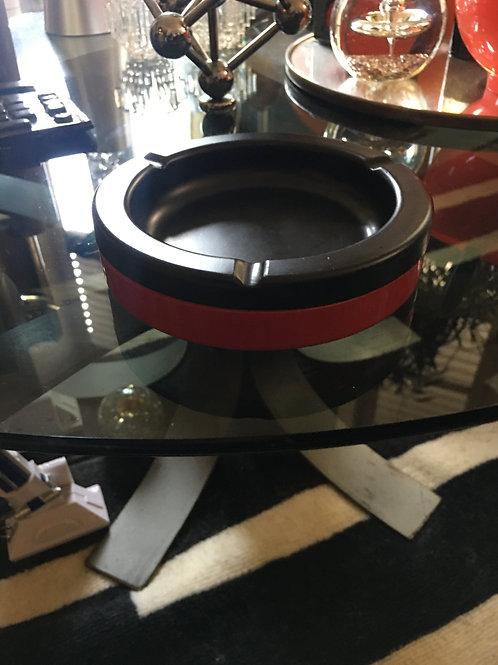 Cendrier rouge 1970 Design Rexité