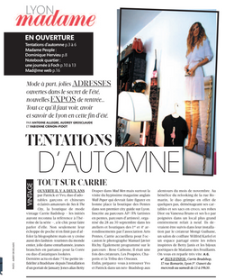 Madame Figaro Septembre 2012