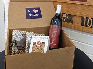 We Love NC April Wine & Snack box no cop