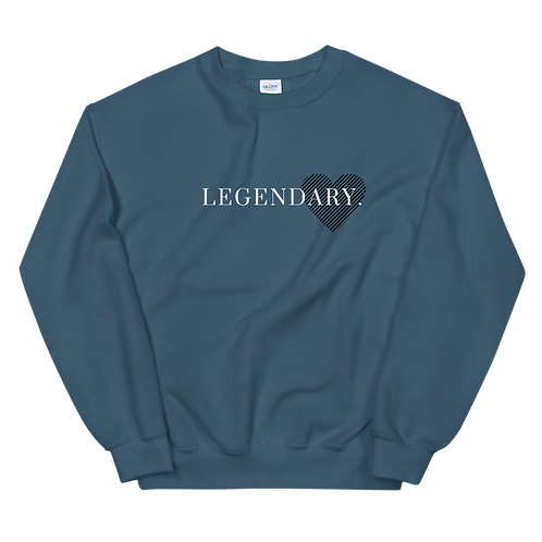 """Love, Legendary"" Classic Sweater"