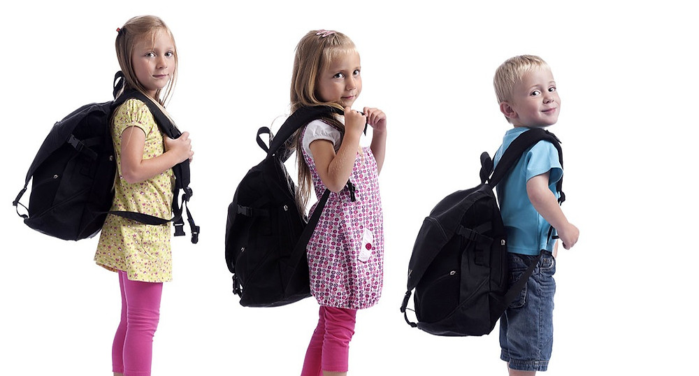 Heavy bookbags cause back pain